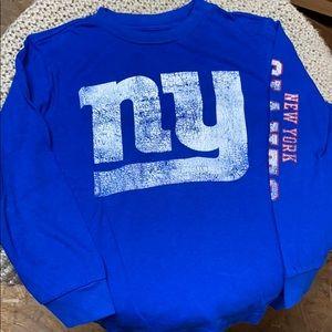New York giants long sleeve. NFL
